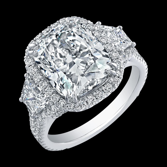 6.02ct Cushion