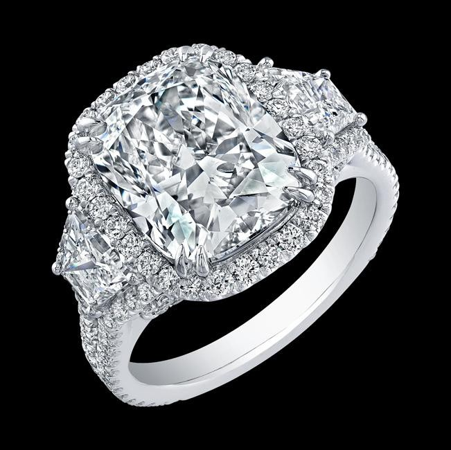 5.02ct Cushion
